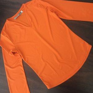 Shirt in knallig Orange:-)