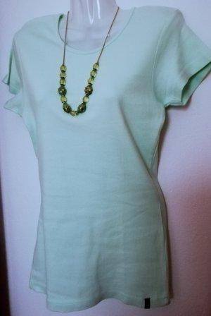Shirt in mintgrün/hellgrün UNGETRAGEN