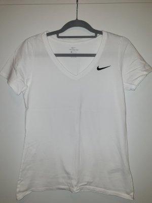 Nike Camiseta blanco-negro
