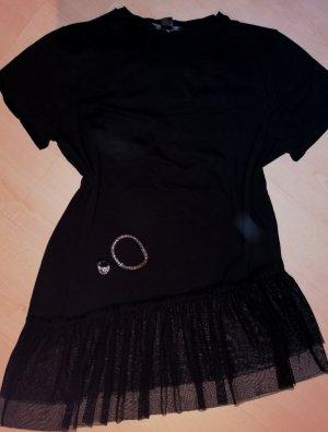 Shirt in schwarz Größe 42 + Schmuck in silberfarbig gratis dazu