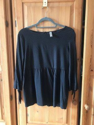 Multiblu Camicia a tunica nero-antracite