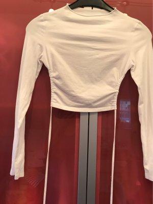 0039 Italy Sports Shirt white cotton