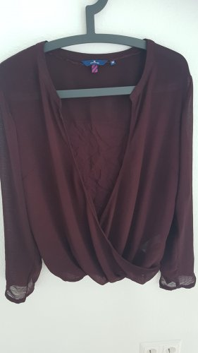 Tom Tailor Wikkelshirt bordeaux