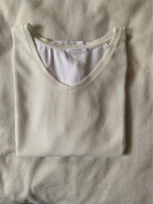 Opus Oversized shirt wit-wolwit
