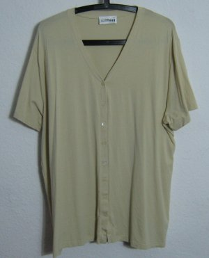 Shirt Jacke Gollehaug Sand Größe 50