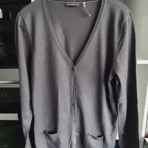 Street One Chaqueta estilo camisa gris oscuro