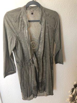 Shirt Jacke von Tredy Größe 38