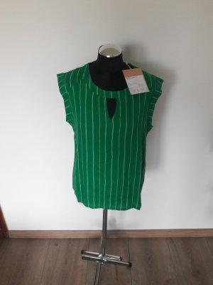 shirt kaffe gr. 38 grün