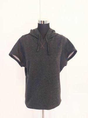 Camicia con cappuccio grigio scuro
