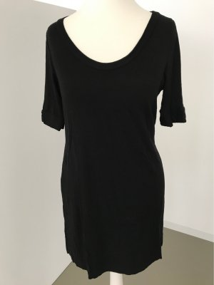H&M Camicia lunga nero Viscosa