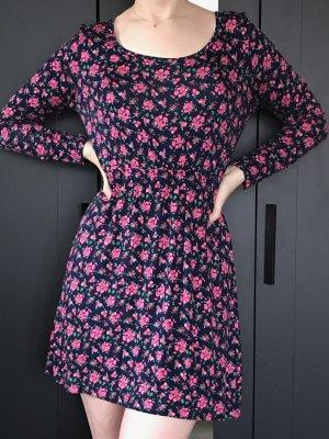 Shirt-Kleid aus weichem Material