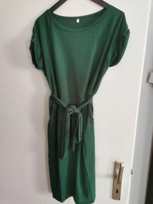 Misonlly Robe t-shirt vert forêt