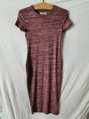 Ivivi Shirt Dress bordeaux-dusky pink