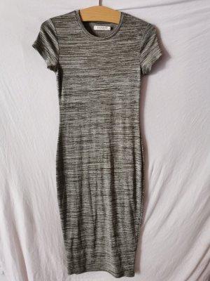 Ivivi Sukienka dresowa w kolorze białej wełny-khaki