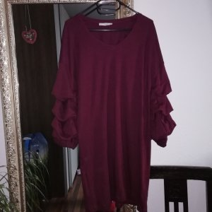Mango Robe t-shirt bordeau