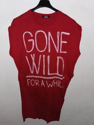 Shirt kleid mit gone wild Aufschrift