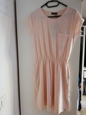 eight 2 nine Vestido de tela de sudadera rosa