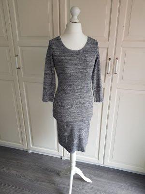 Shirt-Kleid von H&M Größe S Grau Meliert