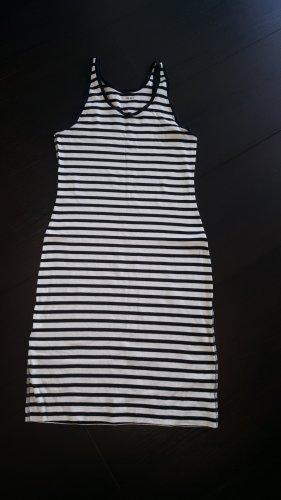 marc cain sports Robe t-shirt blanc-bleu foncé