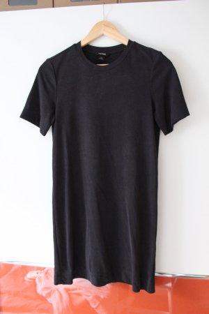 Monki Vestido estilo camisa negro