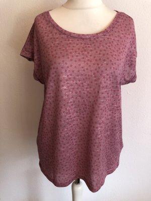 Bodyflirt T-shirt stoffig roze-roze