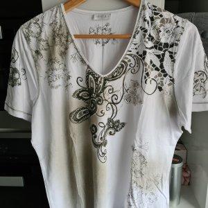 Shirt Kurzarm weiß