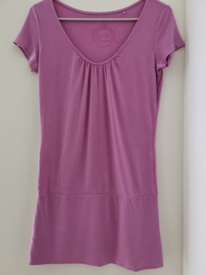Shirt lang pink