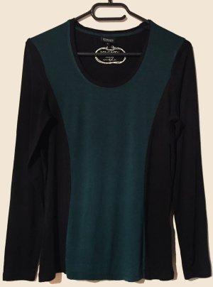 Shirt, langärmlig, U-Ausschnitt, Gr. S