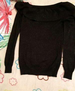 Boatneck Shirt black