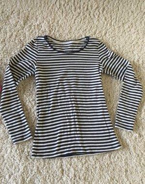 Shirt langarm gestreift Gr. M von H&M