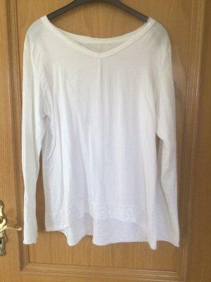0039 Italy V-Neck Shirt white