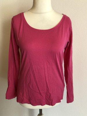 Shirt Langrmshirt Longsleeve Basic pink Gr. L