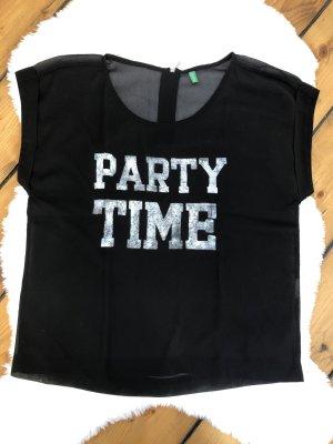Shirt leicht transparent * Neu * Benetton * Größe XS/S