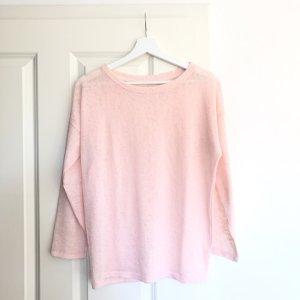 Zara Koszulka z długim rękawem jasny różowy