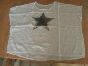Shirt Leinen Oversize Gr. 38-46 Neu