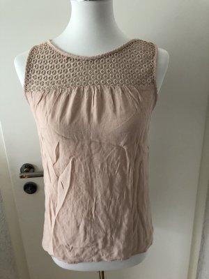 Shirt * Lochmuster * rosé * Zara * Gr M