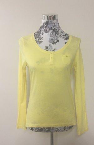 Shirt Long sleeve gelb Zero Gr.40