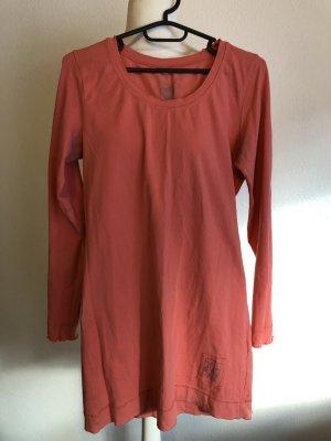 Shirt Longshirt Longsleeve Basic hellrot Gr. S