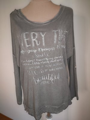 Blind Date Top extra-large gris