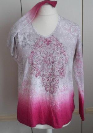 Olsen Longsleeve multicolored cotton