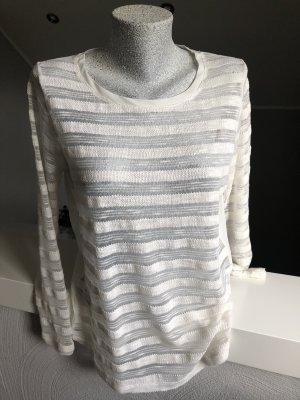 Gina Manga larga blanco puro-crema