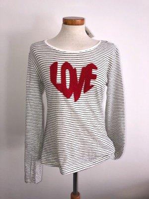 Shirt Love Stitch & Soul  Ringelshirt Langarm Gr.L Neu