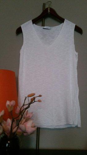 Shirt Mango M 38 (S 36 gut möglich) weiß Viskose
