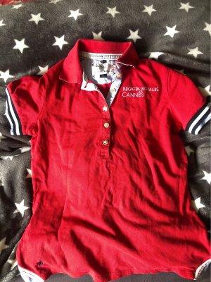 Marine Pool Short Sleeve Shirt red