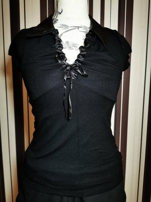 Shirt Melrose 38 schwarz v Ausschnitt Damen