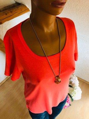 Shirt - Mia Linea - lachs / koralle - Gr. 42