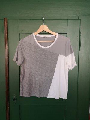 Shirt mir asymmetrischen Muster