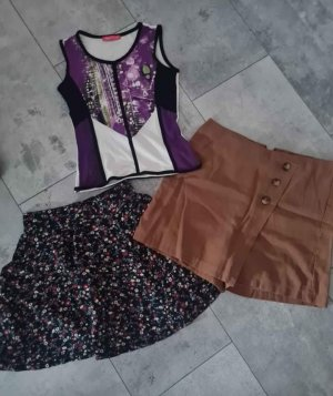Clockhouse Miniskirt brown