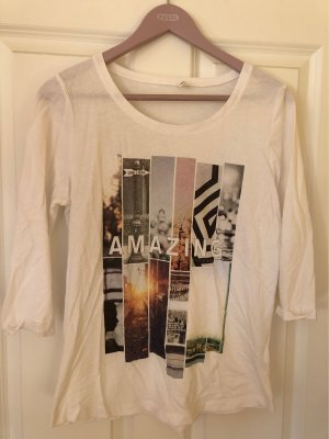 Shirt mit 3/4 Ärmel