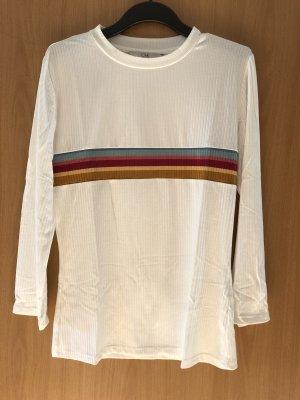 Shirt mit 3/4 Ärmeln, herbstliche Farben. Größe M